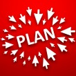 Royalty-Free Stock Photo: Plan