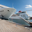 Stock Photo: Cruise ships
