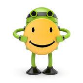 Happy robot — Stock Photo
