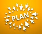 Plan — Stock Photo