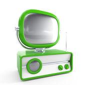 Stylowa retro tv — Zdjęcie stockowe