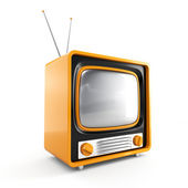 Tv retrô elegante — Fotografia Stock