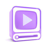 Video player — Zdjęcie stockowe