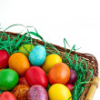 colorful easter eggs — Stock Photo #10033139