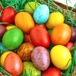 colorful easter eggs — Stock Photo #10033217