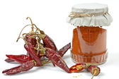 Dried chillies — Stock Photo