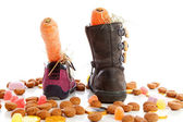 Sinterklaas, typical Dutch event — Stock Photo