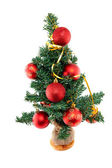 пластиковые елки withred шары — Стоковое фото