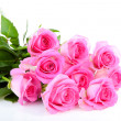 Stock Photo: Bouquet of pink roses
