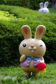 Rabbit figure — Stock Photo