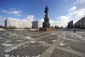 Kaluzhskaya Square. Moscow. Russia. — Stock Photo