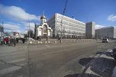 Kaluzhskaya Square. Moscow. Russia. — Stock Photo