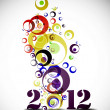 new year 2012 — Stock Vector