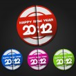New year 2012 background - 