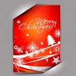 Stock Vector: Greetings card for xmas