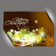 Greetings card for xmas - Stock Vector