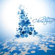 Abstract christmas tree background — 图库矢量图片 #8125318