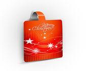 Christmas striker — Stock Vector