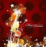 Nyår och jul design — Stockvektor