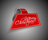 Weihnachts-stricker-design — Stockvektor