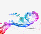 Abstract valentines day background — Stock Vector