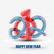 Royalty-Free Stock Vektorfiler: New year 2012 design element
