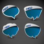 Messenger window icon — Stock Vector #8843460
