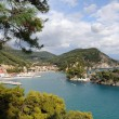 Aerial view of Parga, Greece — Stock Photo