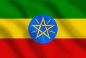 Flag of Ethiopia — Stock Photo