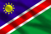 Flag of Namibia — Stock Photo