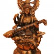 Bronze statue of Saraswati. — Stock Photo #10426638