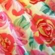 Fabric with flowers — Stockfoto
