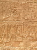 Wall of Karnak Temple — Foto Stock