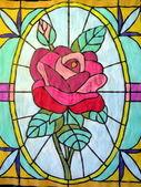 バラを描いた — ストック写真