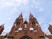 Sveksna、リトアニアの教会 — ストック写真