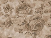 Old floral fabric — Stock Photo