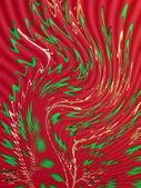 Kırmızı ve yeşil — Stok fotoğraf