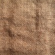 Old linen fabric — Stock Photo