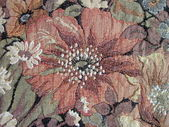 Floral tapestry — Stock Photo