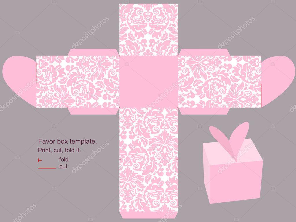 christmas gift box template – Box Template