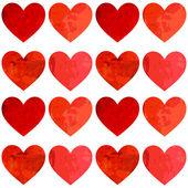 Láska. na zeleném pozadí — Stock vektor