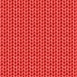 Knitted Fabric background — Stock Vector