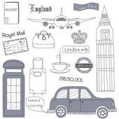 London travel — Stock Vector