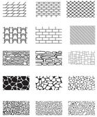 Building texture — Vector de stock