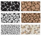 Piedras de corredor — Vector de stock