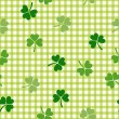Stock Vector: Clover background