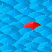 Umbrella background — Stock Vector