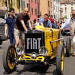 1926 built yellow FIAT 509 sport Monzat 1000 Miglivintage car race in Brescia — 图库照片 #10303241