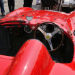 Постер, плакат: 1955 built red Ferrari Mondial at 1000 Miglia vintage car race in Brescia