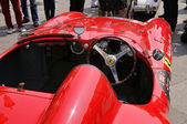 1955 built red Ferrari Mondial at 1000 Miglia vintage car race in Brescia — Stock Photo